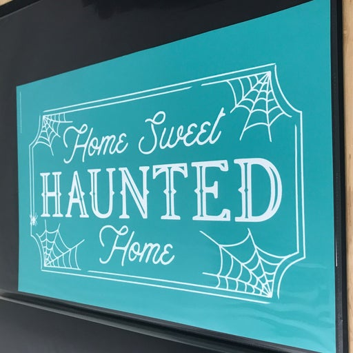"""Chalk Couture """"Home Sweet Haunted Home"""""""