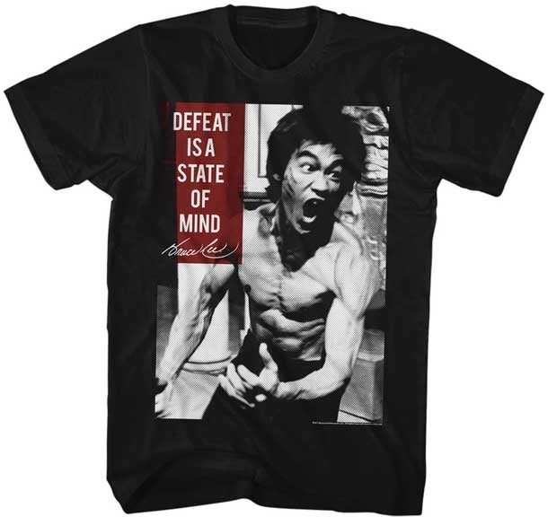 Bruce Lee State Of Mind Men's Tee Shirt