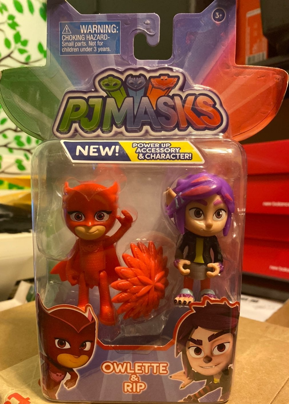 PJ Masks Owlette & RIP Figures NEW