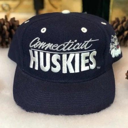 Vtg NWOT NCAA UConn Huskies Snapback Hat