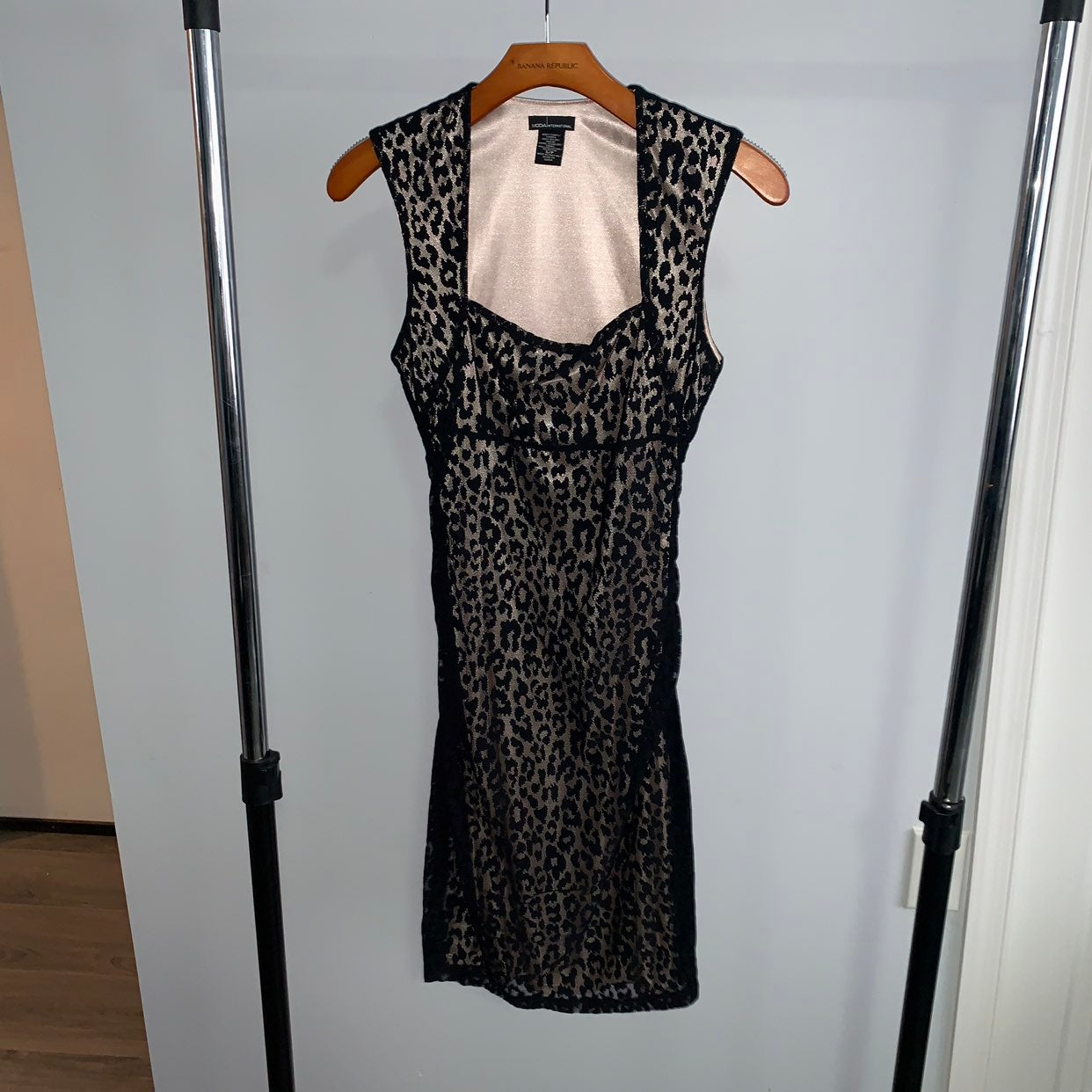 Moda International Cheetah Print Dress
