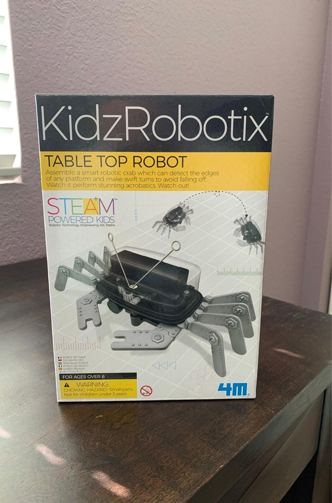 Robotic table top crab robot kit