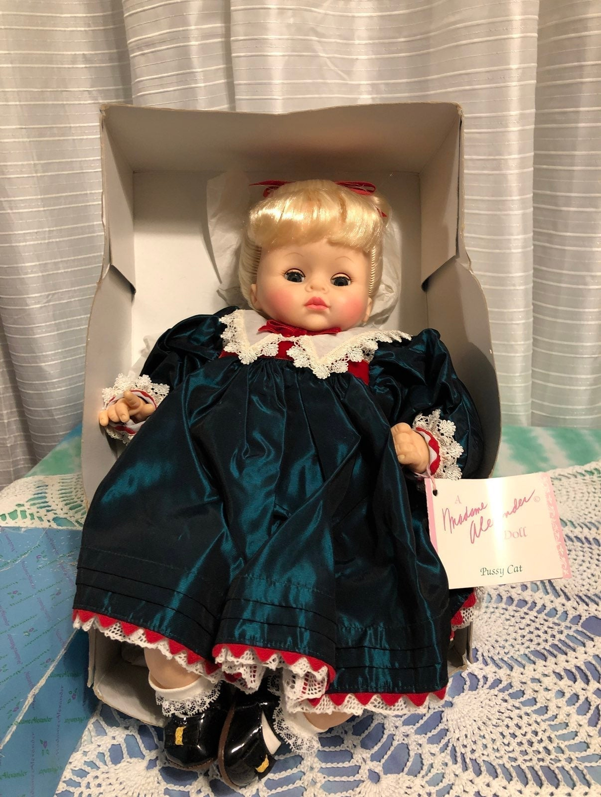 Vintage Rare Madame Alexander doll