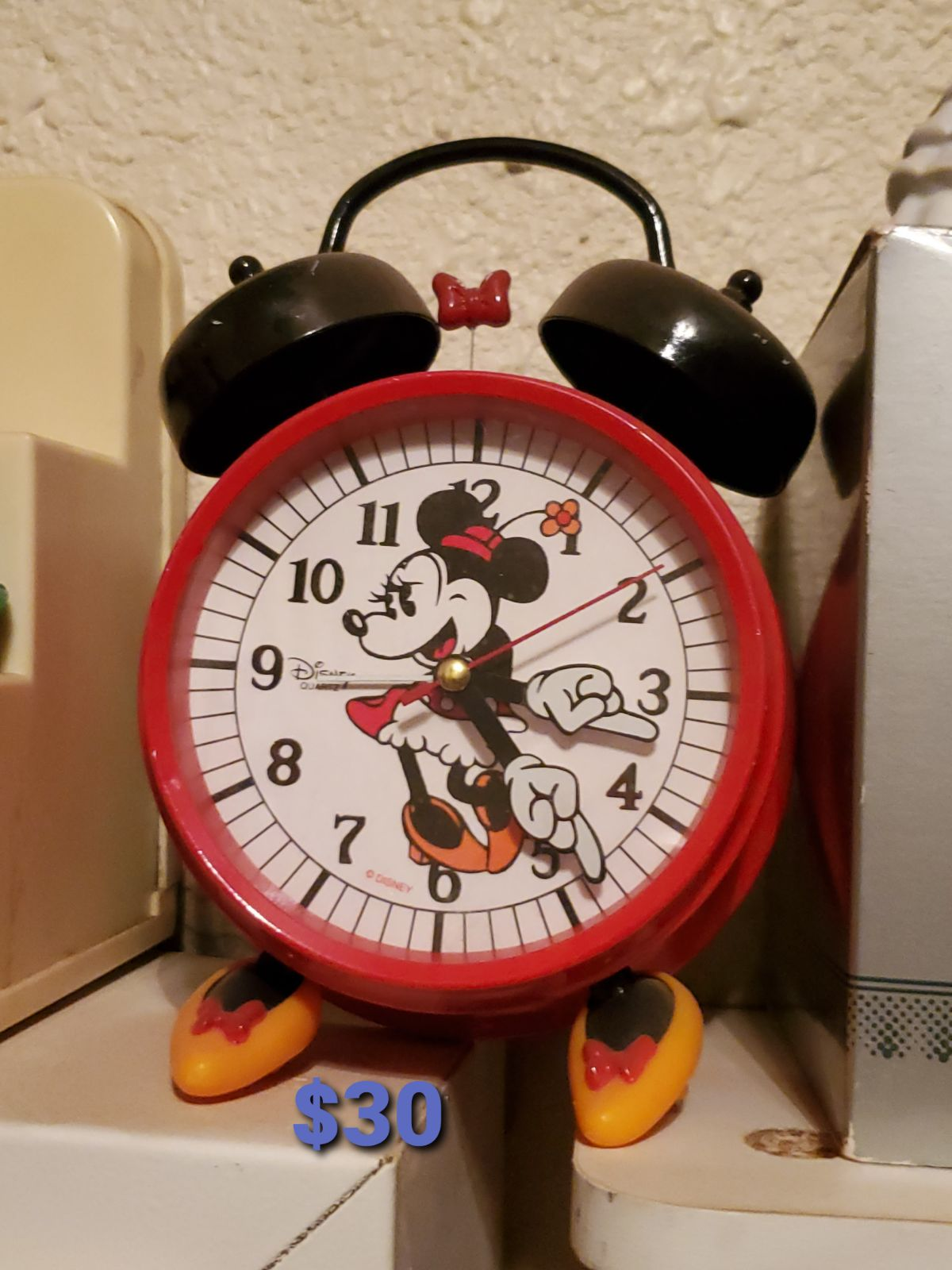 Minnie Mouse Alarm Clock