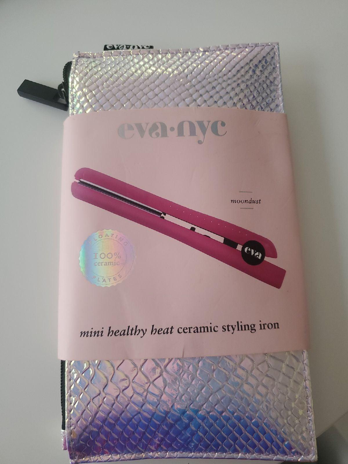 Eva NYC mini hair straightener,  brand n
