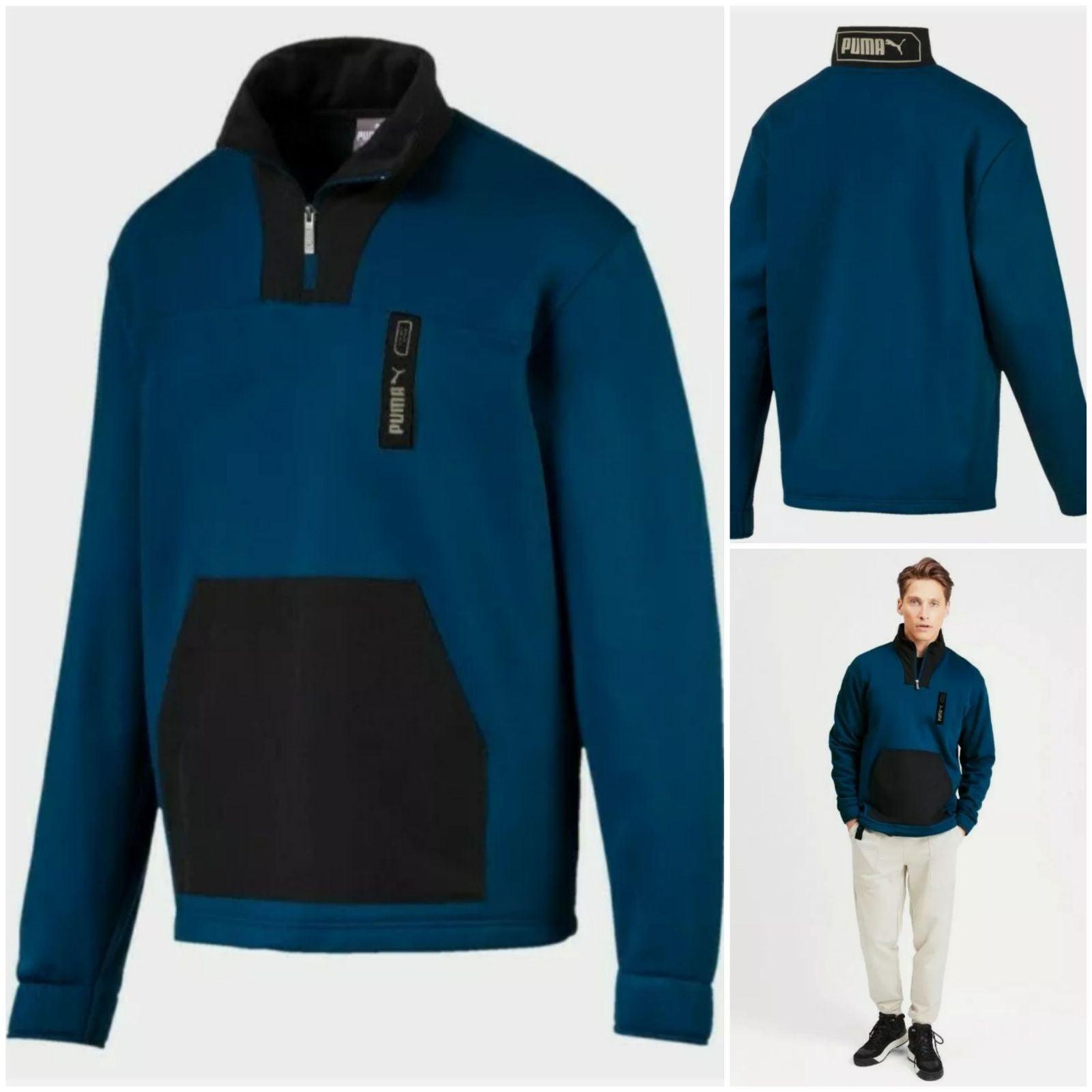 PUMA Men's NU-TILITY Half Zip Jacket SAL