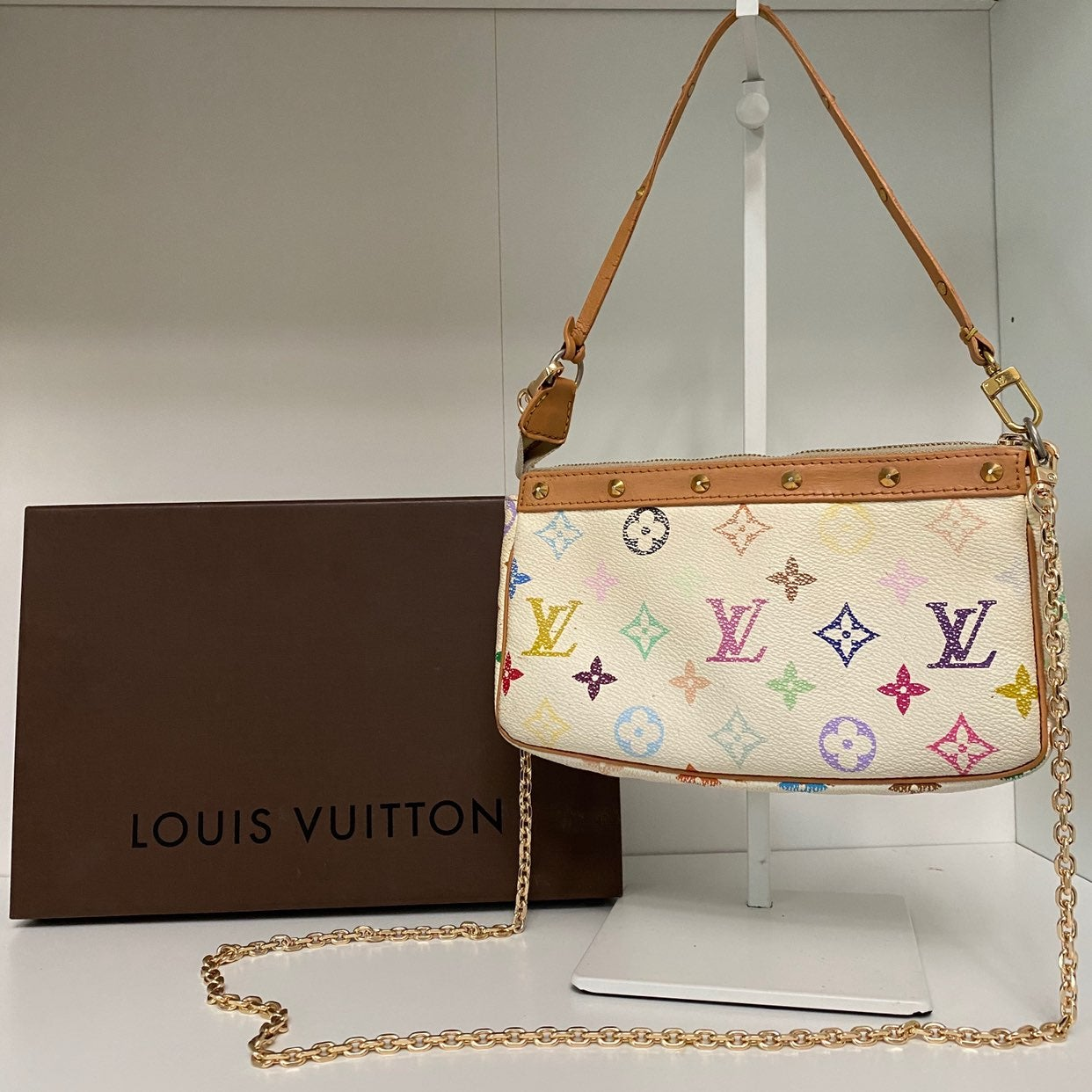 Authentic Louis Vuitton Pochette Bag Mul