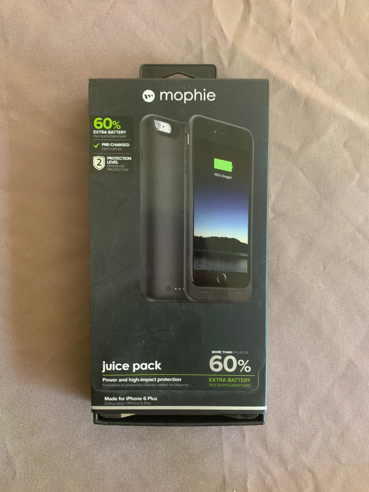 Mophie Charging Case For iPhone 6 Plus