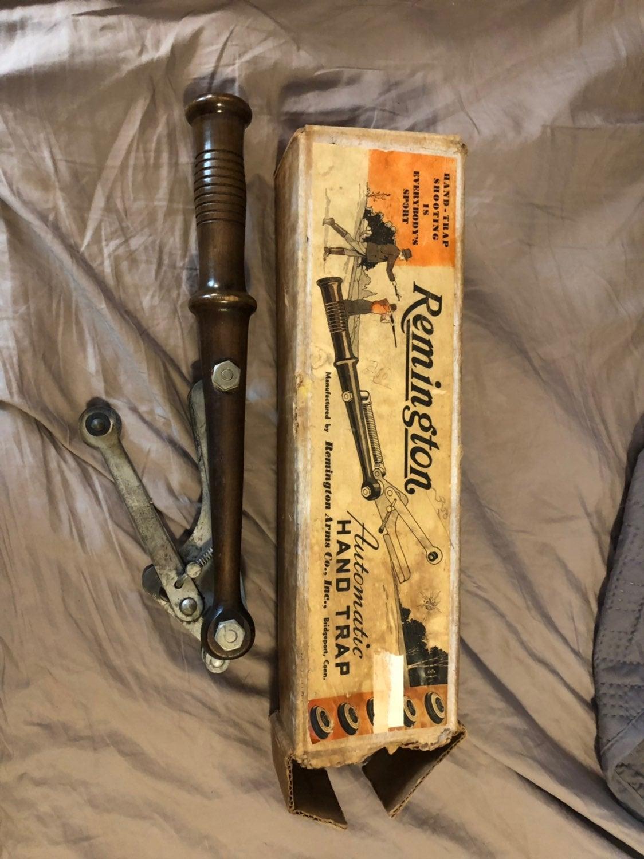 Vintage Remington Hand Trap