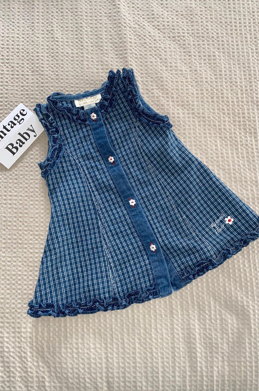 Vintage baby Dress, 24M