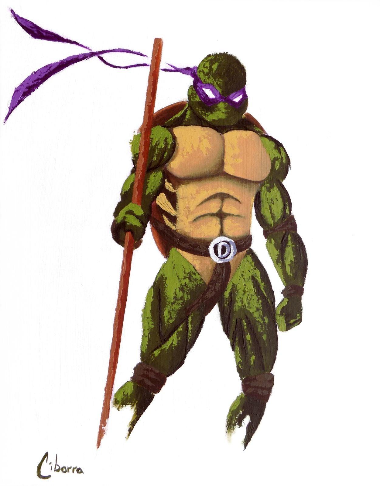 Donatello 11x14 fine art print