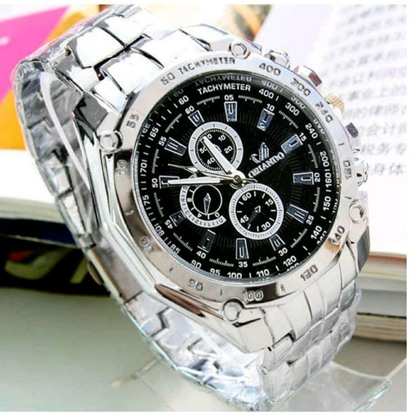 Mens Stainless Business \ Sports Quartz