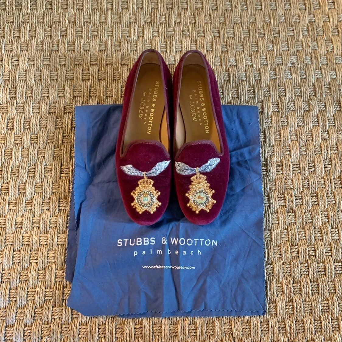 Stubbs & Wootton for J. Crew loafers