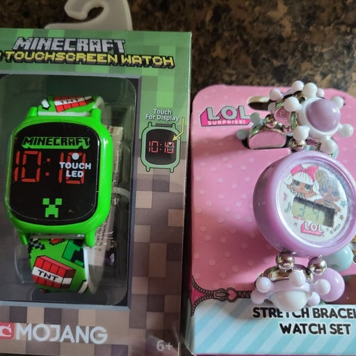 LED Watch minecraft watch l.o.l digital
