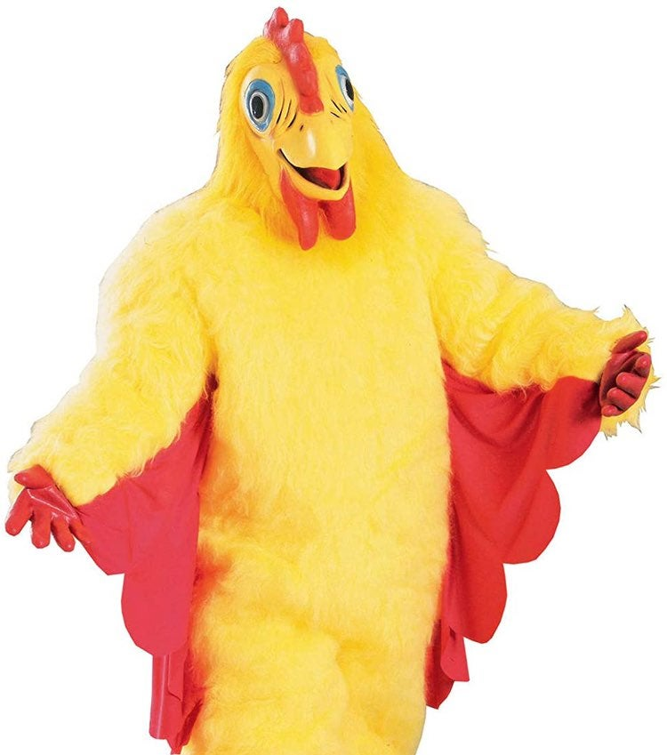 Selling chicken costume