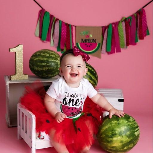 Watermelon one in a melon tutu