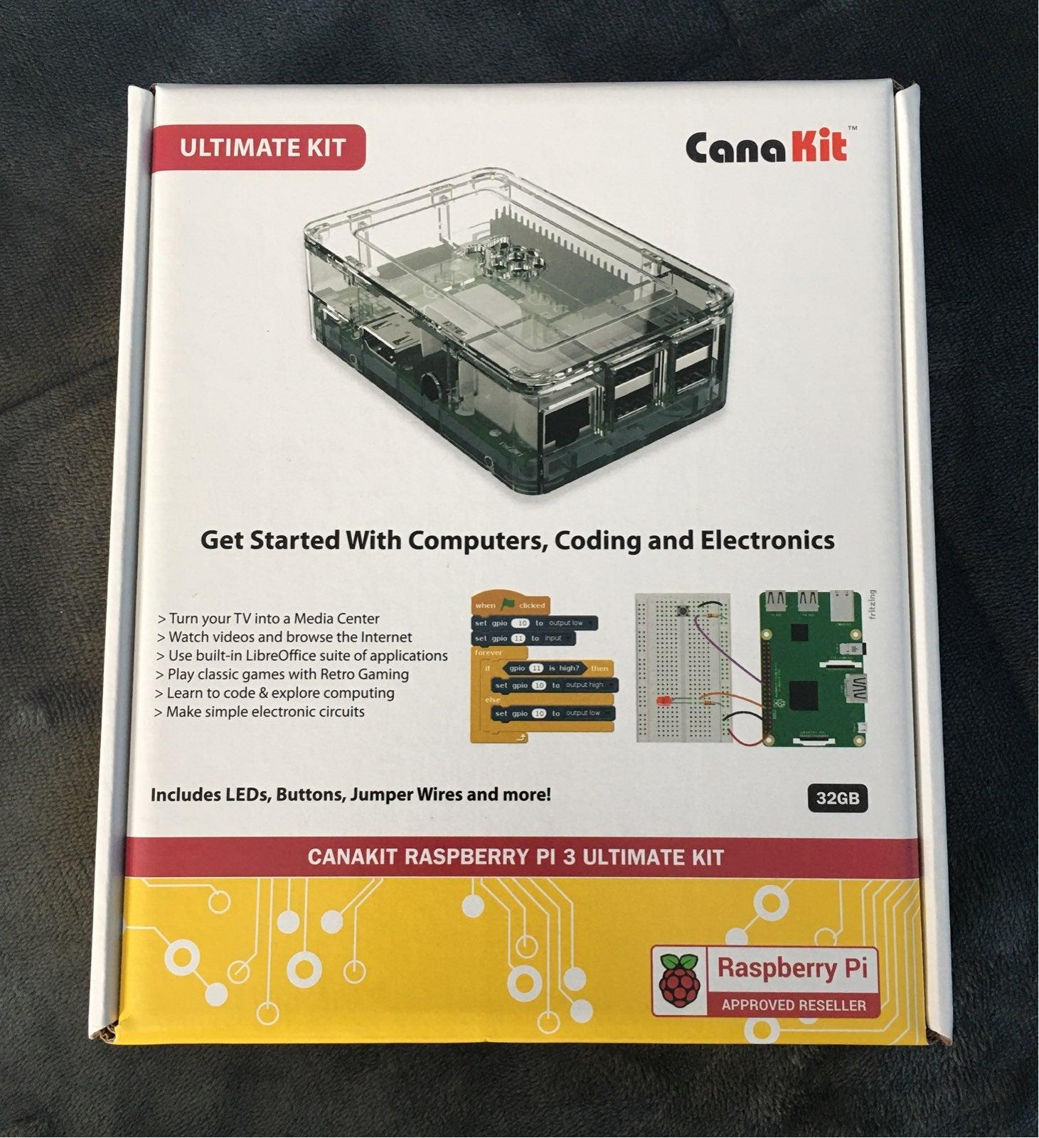 Raspberry Pi 3 Ultimate Starter Kit 32GB