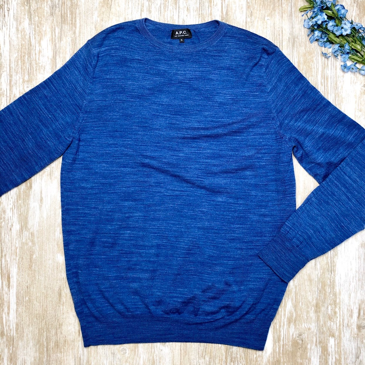 APC Mens Merino Wool Lightweight Sweater