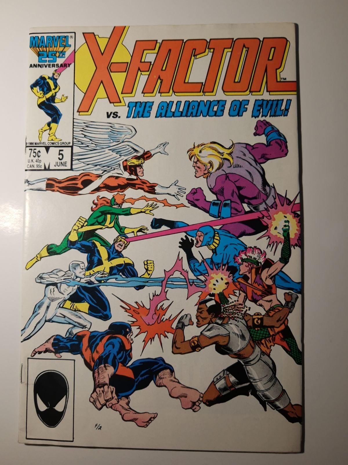 X-factor #5 1st Apocalyse
