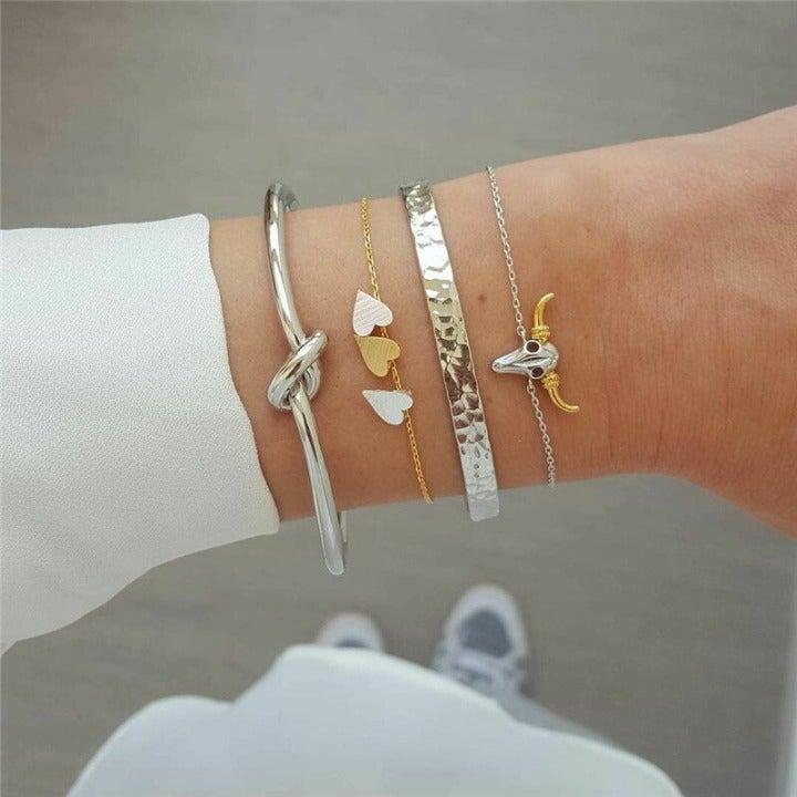 New! Women's Multilayer Bracelet Set