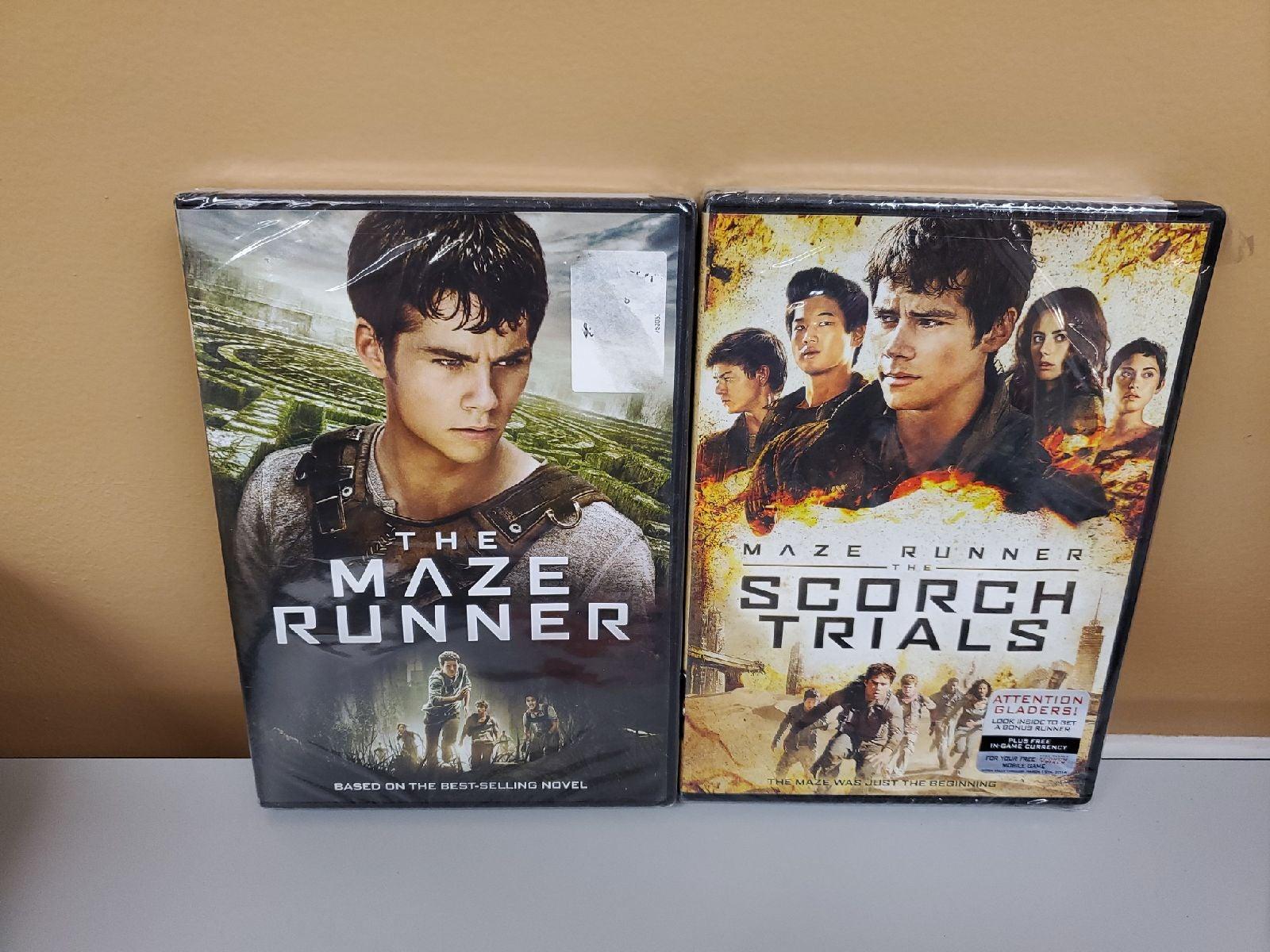 Maze Runner & Scorch Trials DVD NEW