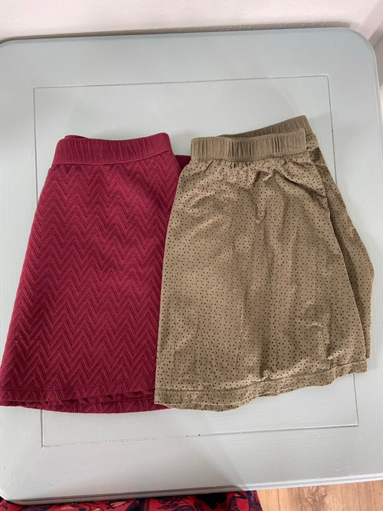 2 Candies mini skirts