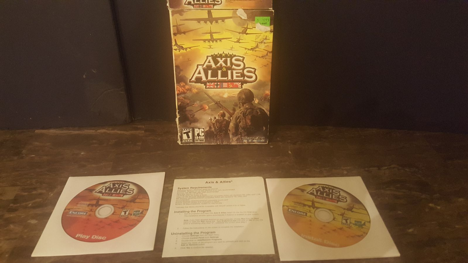 Axis & Allies PC CD Rom Game 2006 ATI