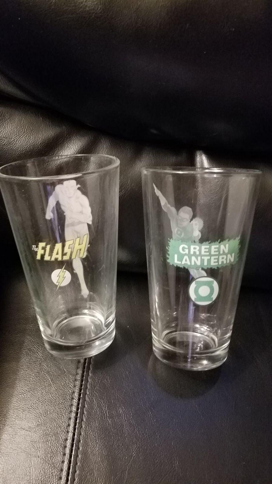 Green Lantern & The Flash Glasses