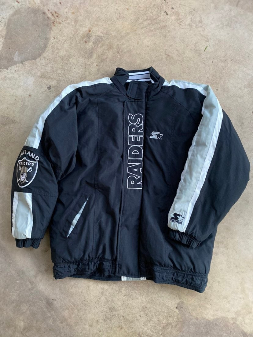 Oakland Raiders Puffer Jacket