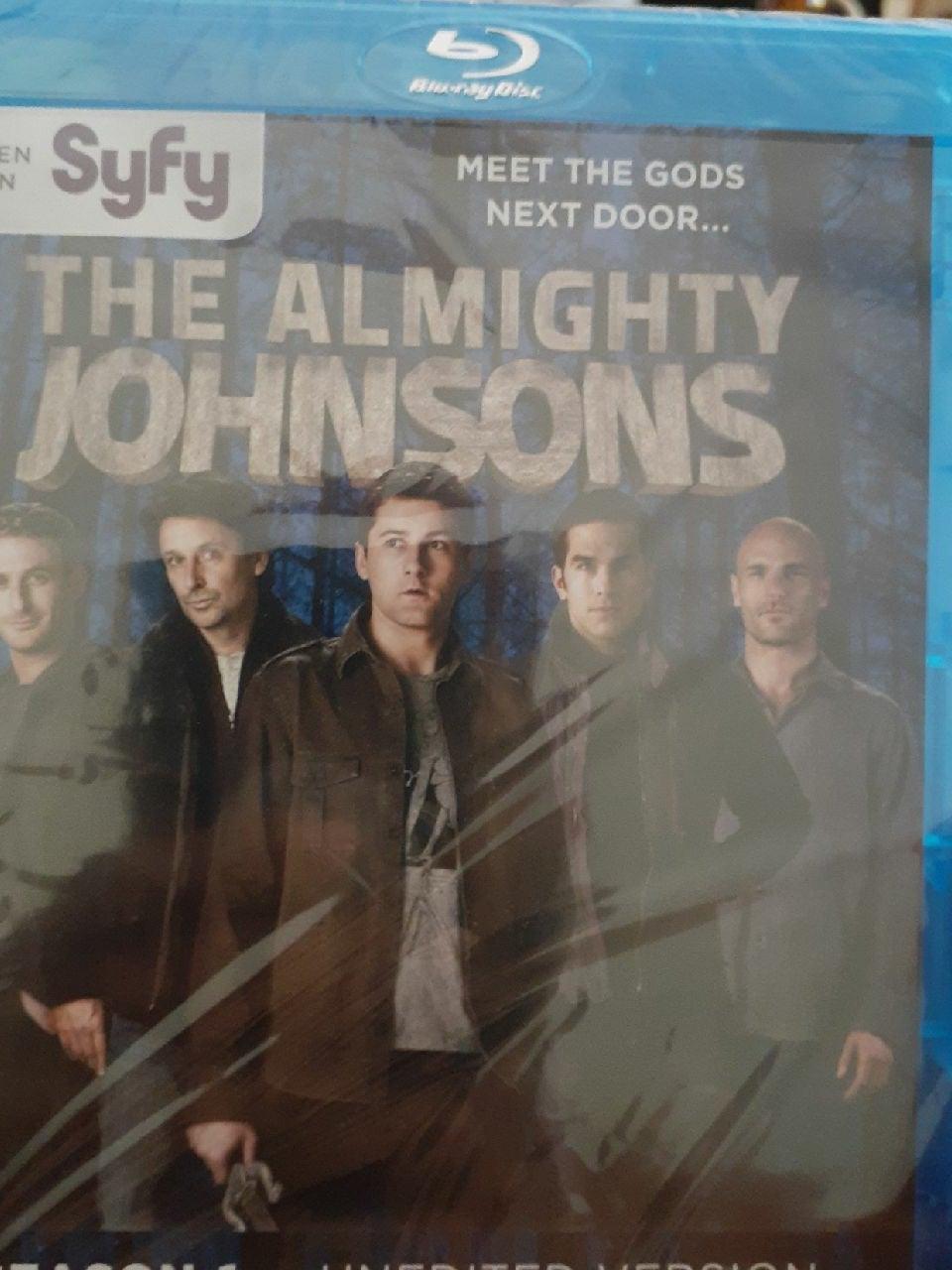 THE ALMIGHTY JOHNSONS SEASON 1 NEW!!