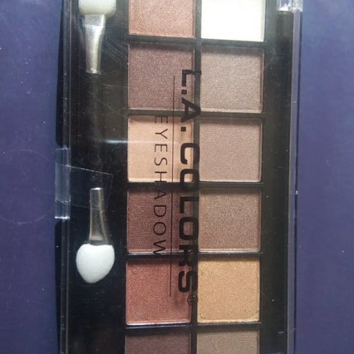 12 ~ L.A. Color Eyeshadow Palette
