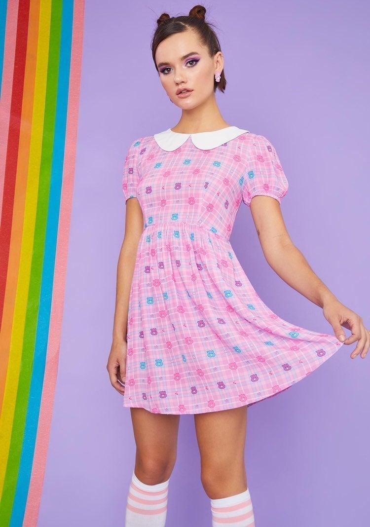 Dolls Kill X Care Bear Dress