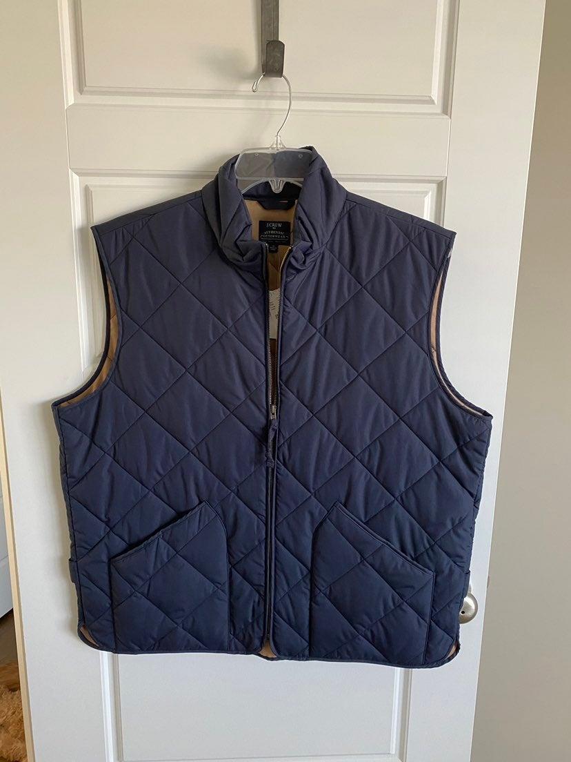 Mens Brand New Jcrew Vest