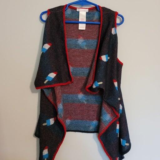 4th of July popsicle vest
