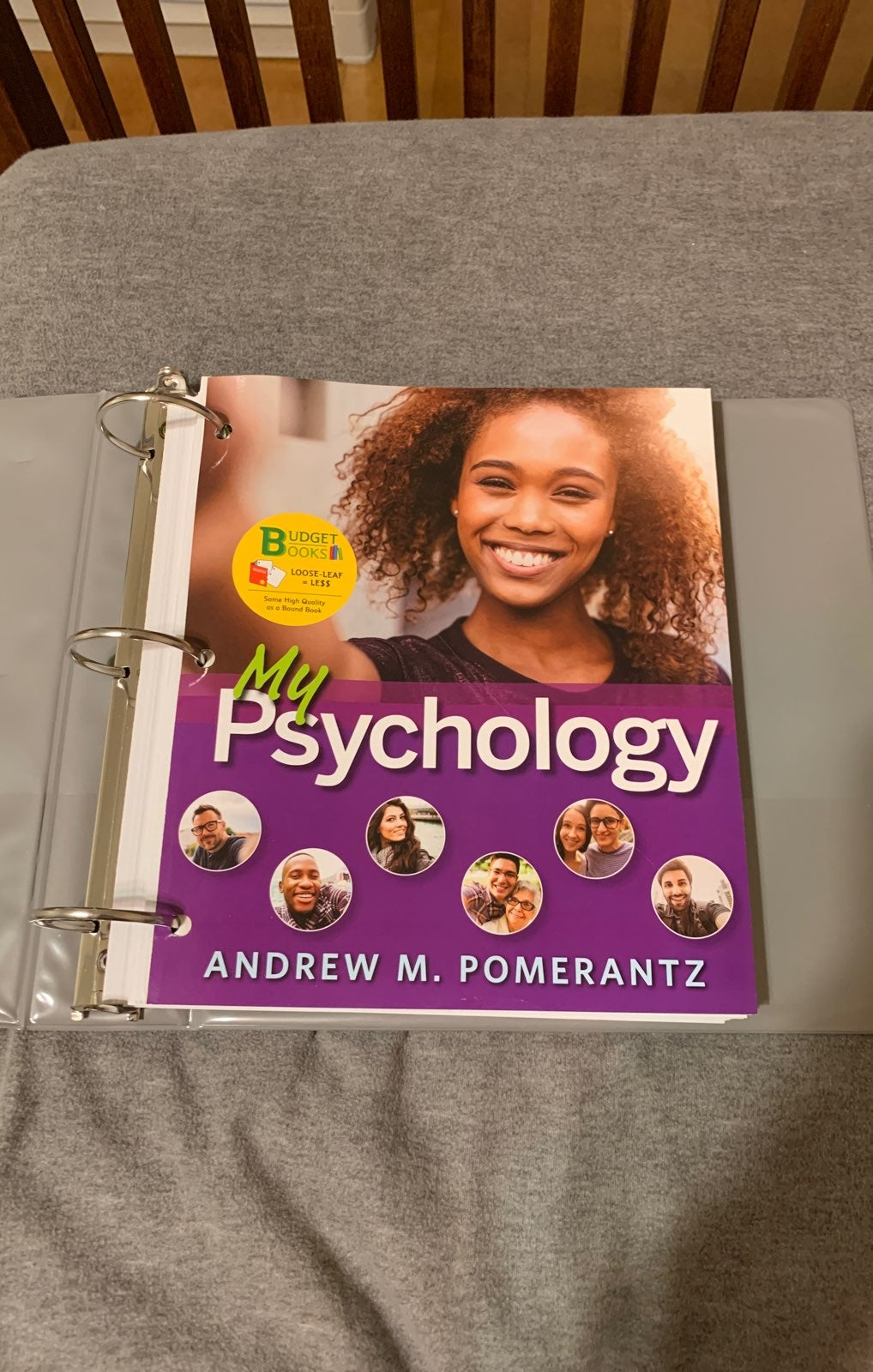 My Psychology Andrew Pomerantz textbook