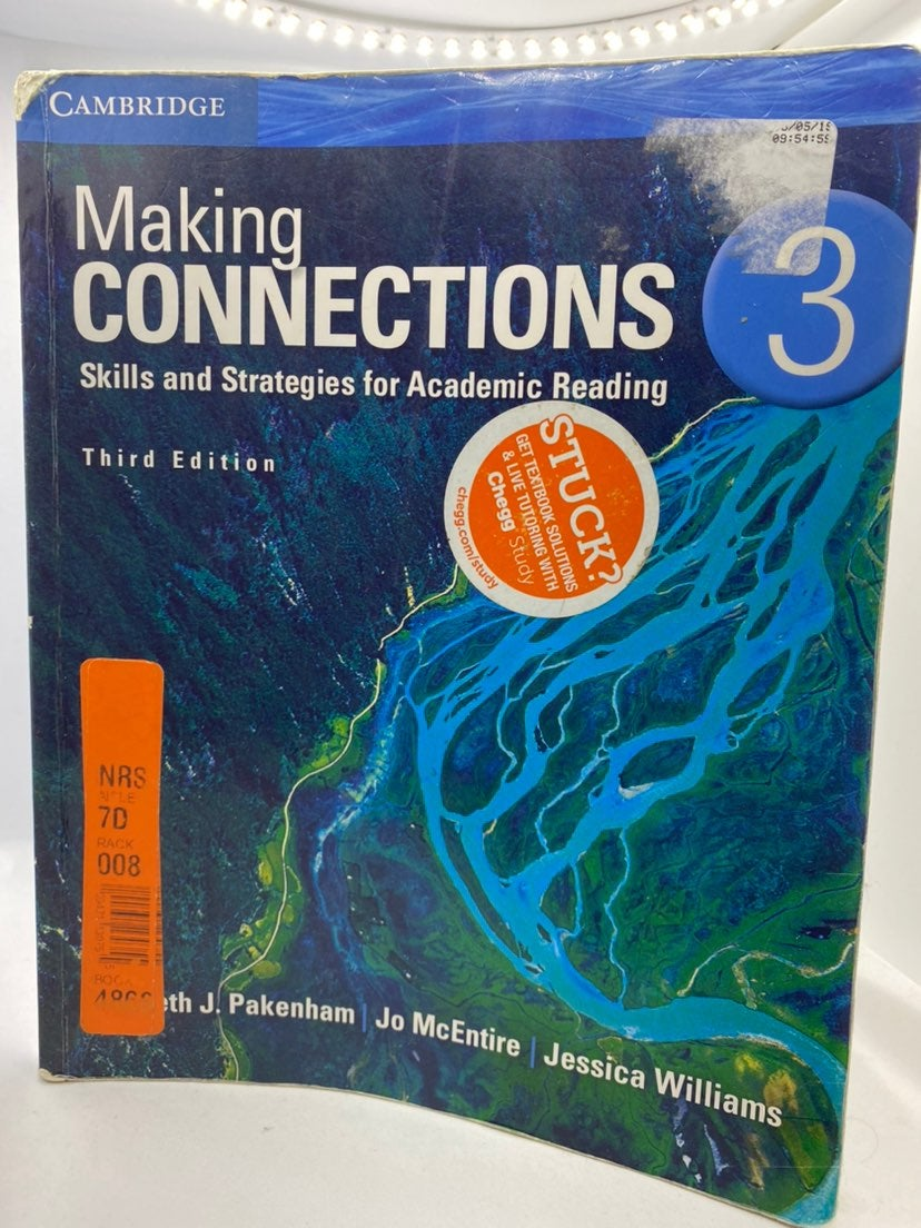 Making Connections 3rd Edition.