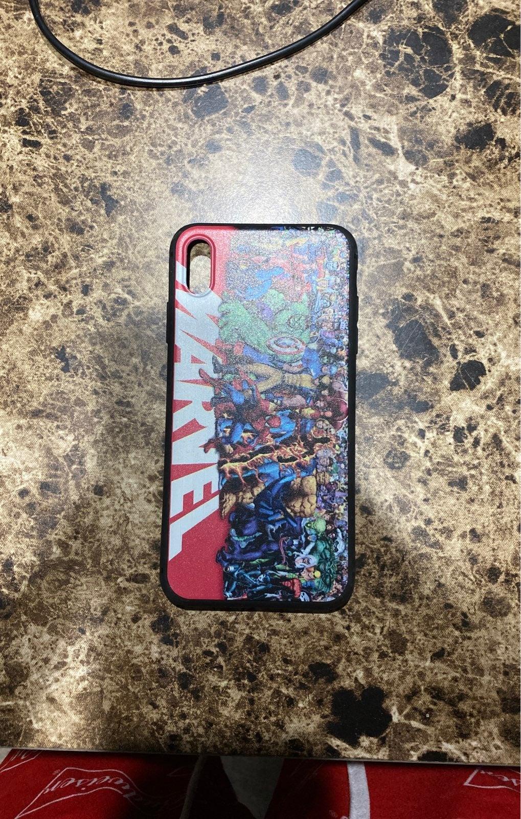 iPhone XS Max Marvel Case