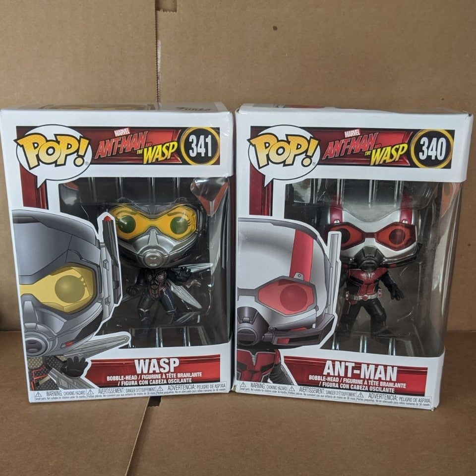 Funko Pop Ant Man and the Wasp Set