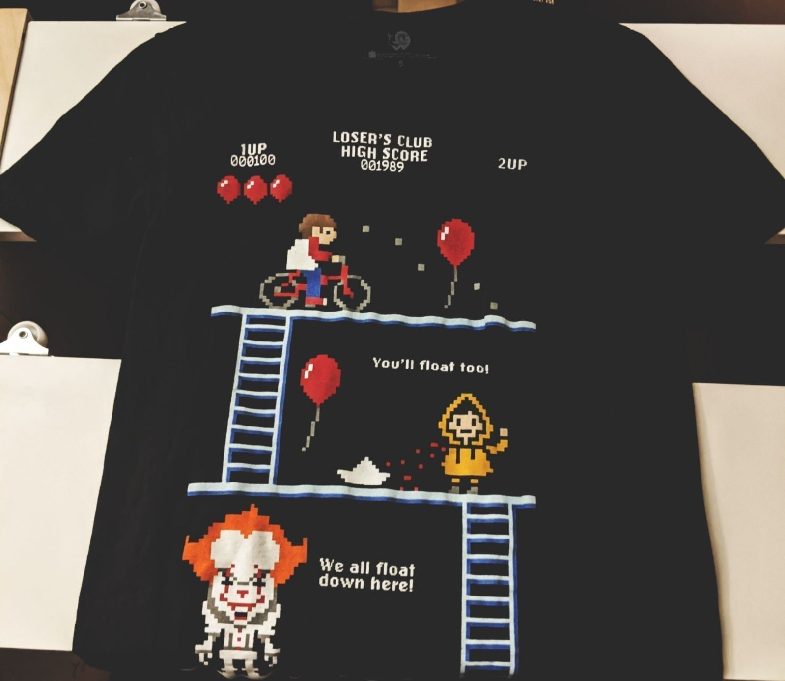 Stephen King it shirt