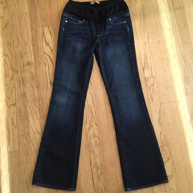 Paige Maternity Boot Cut Jeans Size 26