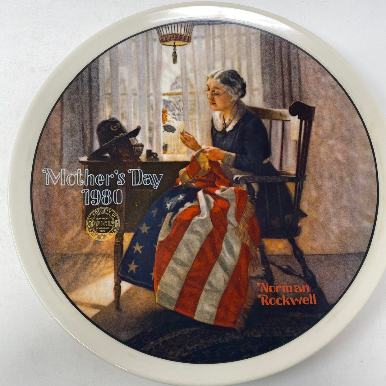 Norman Rockwell A Mother's Pride Plate