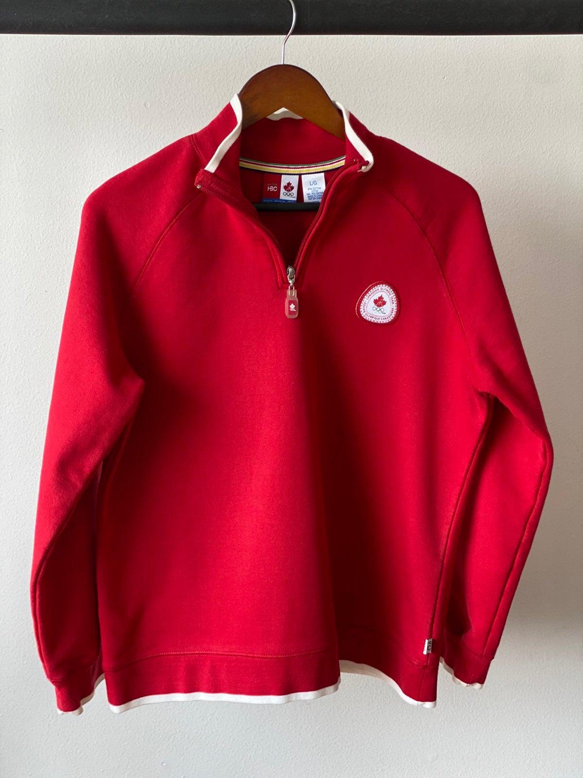 Canada Olympic Sweater Sz L
