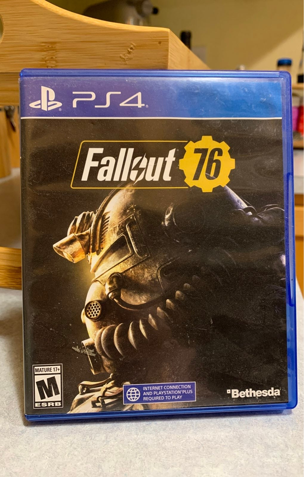 Fallout 76 on Playstation 4
