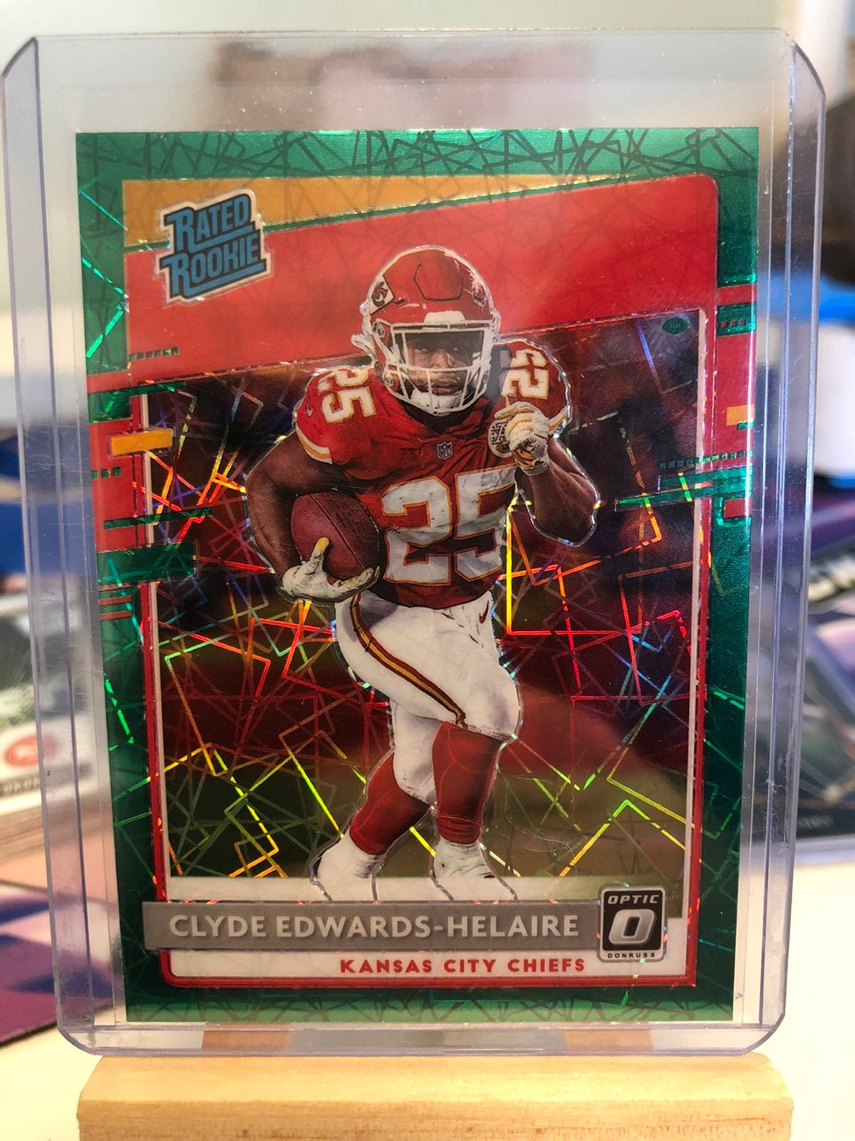 Clyde Edwards Helaire Lot