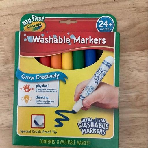 Crayols washable markers new