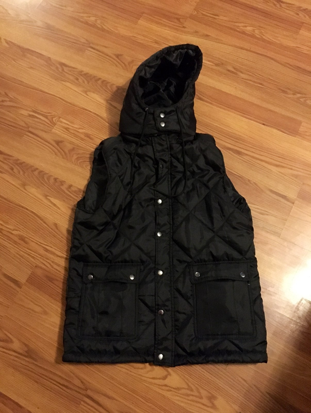 Mens new Puffer Vest size X-large