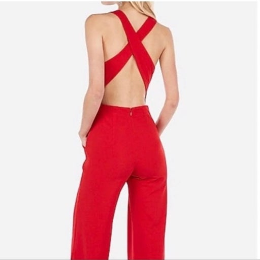 Express | Red Jumpsuit