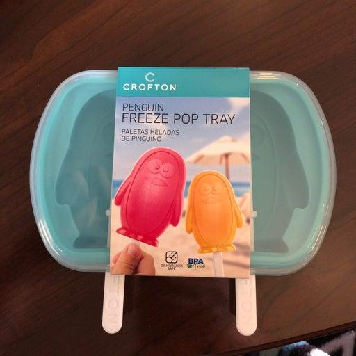 Aldi Crofton Penguin Freeze Pop Tray