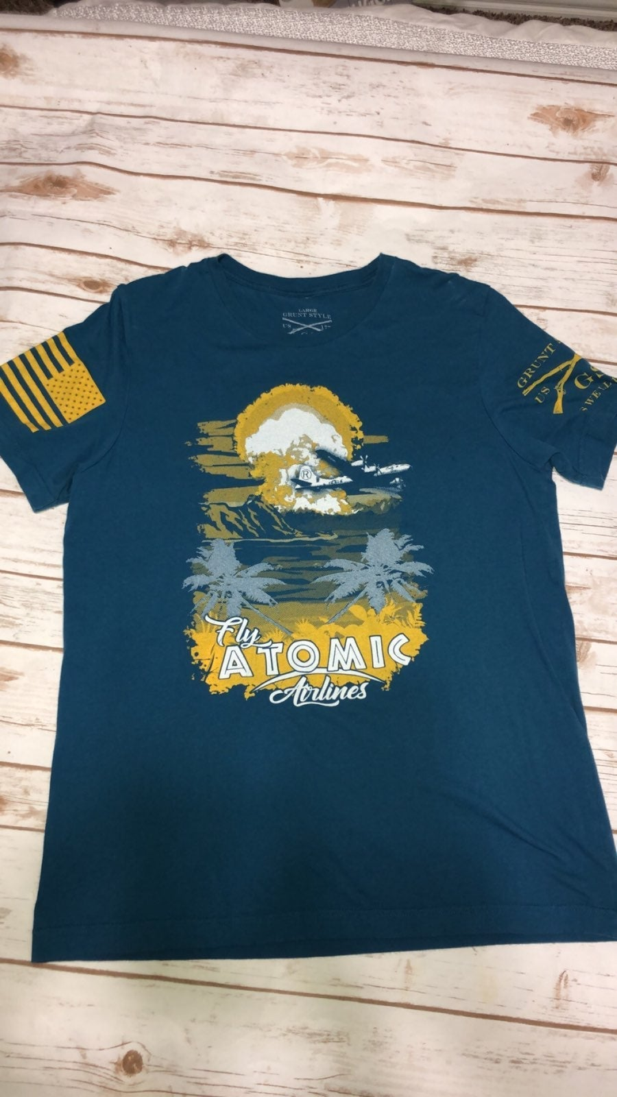 Fly Atomic Airlines Tee