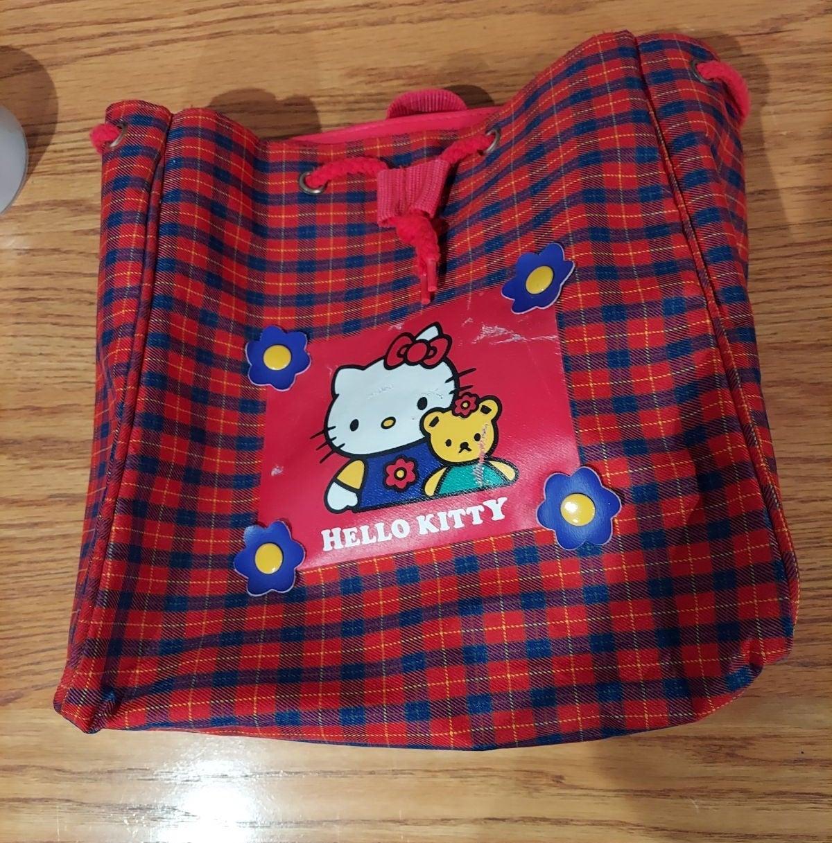 Hello Kitty drawstring backpack